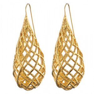 Alexis Bittar Woven Teardrop Earrings